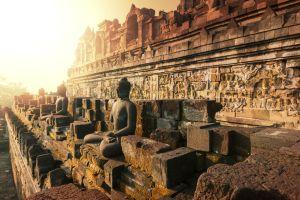 vesak celebracion dia de buda templo de Borobudur
