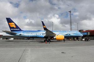 Compagnie aérienne Icelandair un nouvel avion inspiré d'un glacier