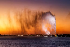 fontana re fahd più alta al mondo a gedda arabia saudita