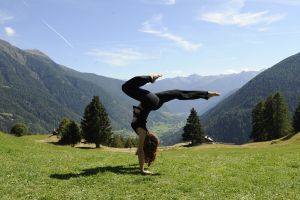 Yoga in Trentino per le vacanze estive