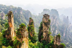 L'incroyable forêt de Wulingyuan en Chine