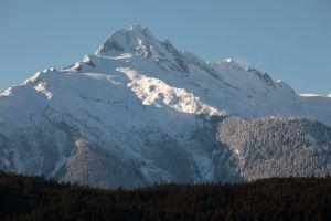 Niente neve in estate a Whistler in Canada