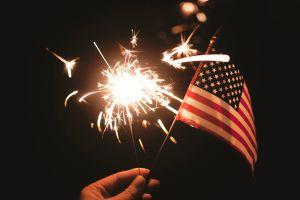 del liberty bell a la mayor fiesta de perritos calientes celebrar el dia independencia estados unidos