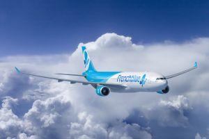 test du vol inaugural de french blue à la Réunion