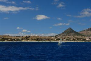 porto santo isola dell'arcipelago di medeira in portogallo