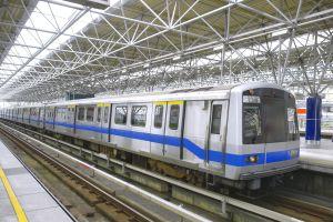 Taïwan le métro se transforme en piscine