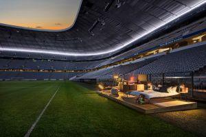 Airbnb propose une nuit dans un stade de foot