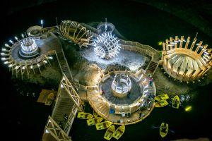 Romania's underground amusement park