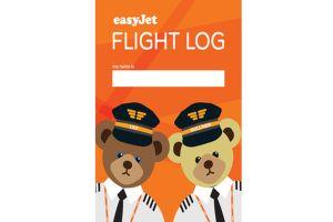 easy jet vuelos libro niños little travelers log book