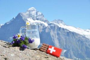 Das Geheimnis von Schweizer Käse und Schoggi