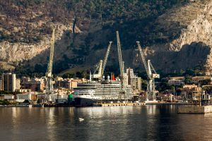 Cruise ships have lead to a water shortage in Palermo