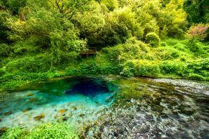 occhio blu la sorgente misteriosa dell'albania