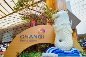 Major increase in air traffic at Singapore's Changi Airport