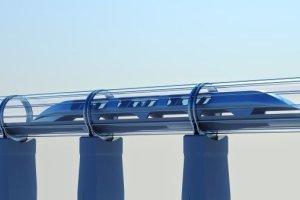 Hyperloop train à très grande vitesse du futur