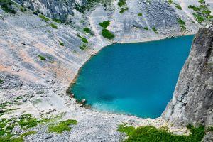 le lac bleu croate a disparu