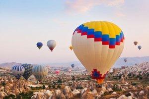 mejores lugares volar globo