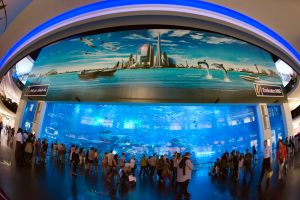 il centro commerciale più grande del mondo si trova a dubai