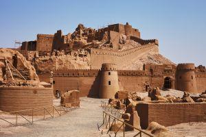 Alte Zitadelle im Iran wieder aufgebaut