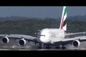 Atterrissage mouvementé pour un avion allemand