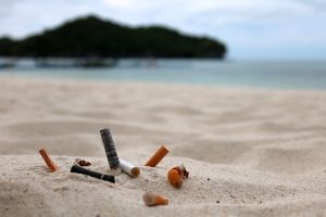 Thailand cracks down on beach smoking
