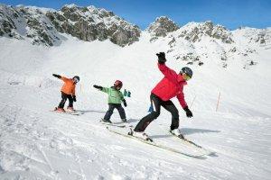 Innsbruck  il college sulla neve per i bambini