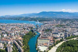 Les SeaBubbles taxis volants au-dessus de l'eau investissent Genève en 2018
