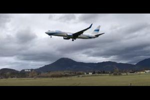 En pleine tempête, un avion a failli s'écraser à Salzbourg