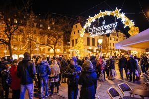Strasbourg marché de noël la sécurité