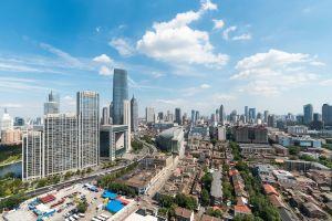 Apertura della biblioteca futuristica di Tianjin cina grande occhio