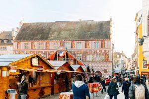 Marché de Noël traditionnel et original à Mulhouse