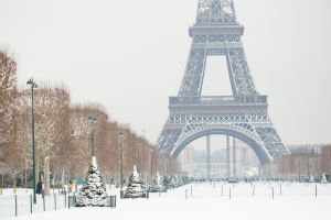 Les photos magiques de Paris sous la neige