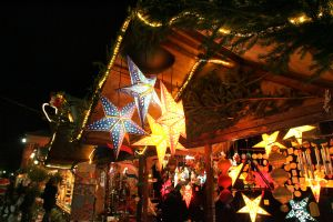 Major overcrowding at small-scale German Christmas Market
