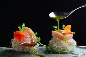 Gourmetgerichte auf der Skipiste