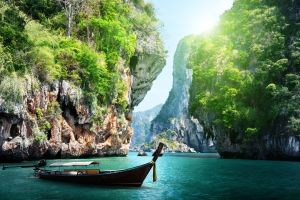 Vacances de rêve dans la province de Krabi, en Thaïlande