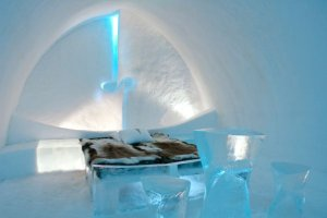 Kalt, kälter, Eishotels