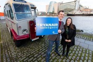 ryanair lanza servicio transfer
