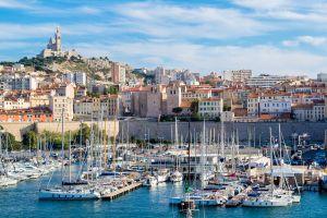Marseille, la ville la plus ensoleillée en 2017