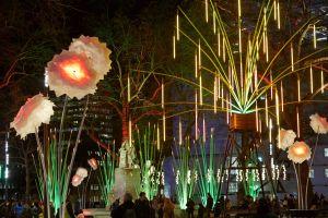 Lumiere festival lights up London