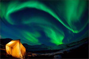 Finlande un hôtel insolite pour regarder les aurores boréales