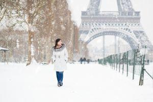 Eiffelturm bleibt wegen Schnee geschlossen