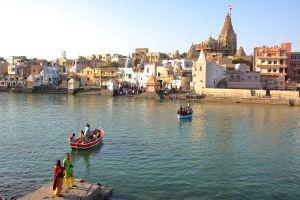 Mystische Stadt in Indien