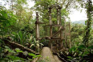 las pozas jardin surrealista mexico