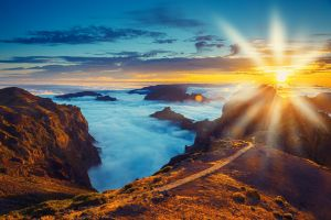 In Portugal auf Wolken zu wandeln