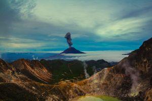 Vidéo : Le réveil du volcan Sinabung en Indonésie