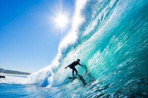 Surf sur Rhone crue