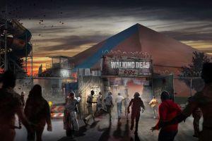 Angleterre une attraction dédiée aux zombies