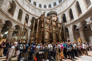 A Jérusalem, le Saint-Sepulcre est fermé aux touristes