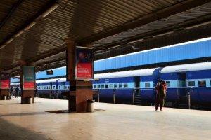 Une gare au personnel 100 féminin en Inde