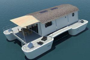 vacaciones casa flotante