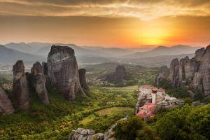 meteora descubre lugar santo grecia